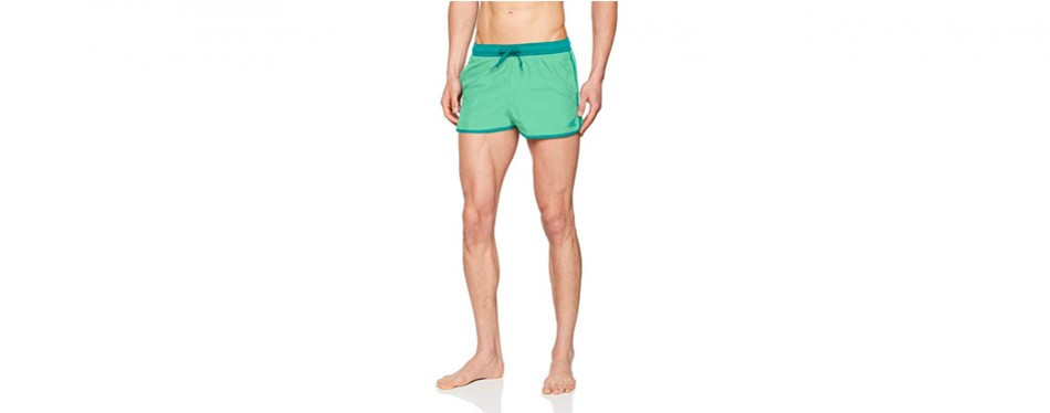 Adidas Men Swimming Trunk Green Pool Beach Quick Dry