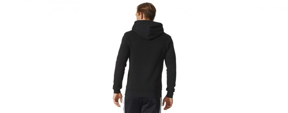 Adidas Men's Essential Linear Logo Pullover Hoodie