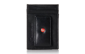 Alpine Swiss Mens Leather