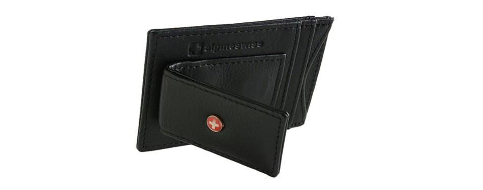 Alpine Swiss Mens Leather