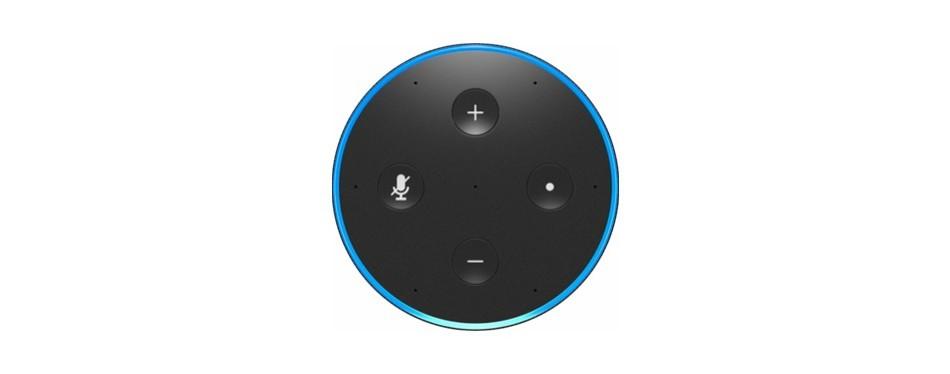 Amazon Echo (Second Generation) With Alexa (Smart Speaker)