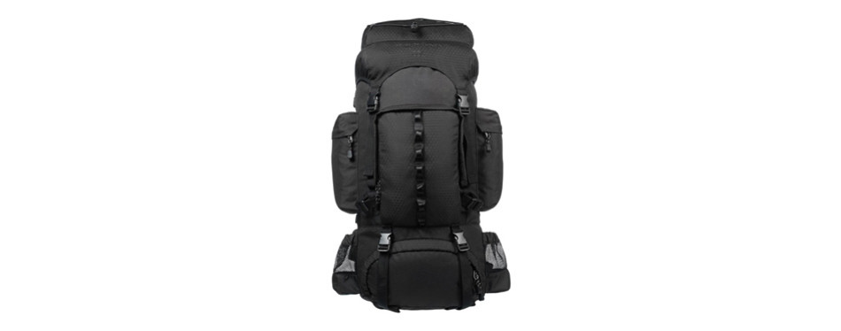 AmazonBasics Hiking Backpack with Rainfly