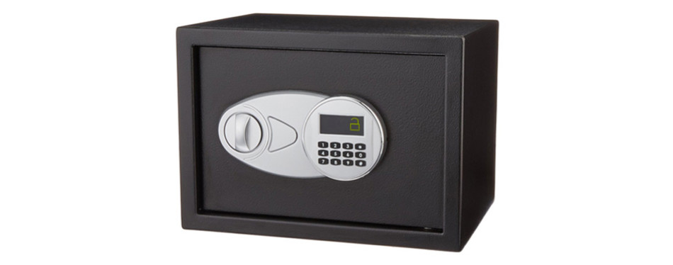 AmazonBasics Security Home Safe
