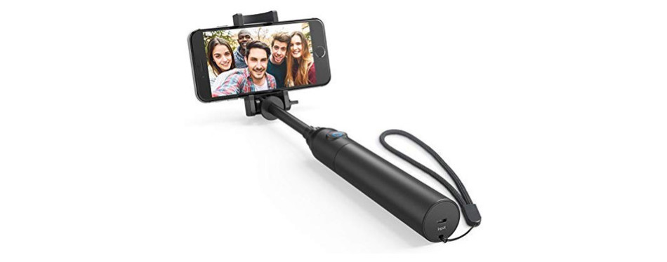 Anker Bluetooth Highly-Extendable and Compact Selfie Stick
