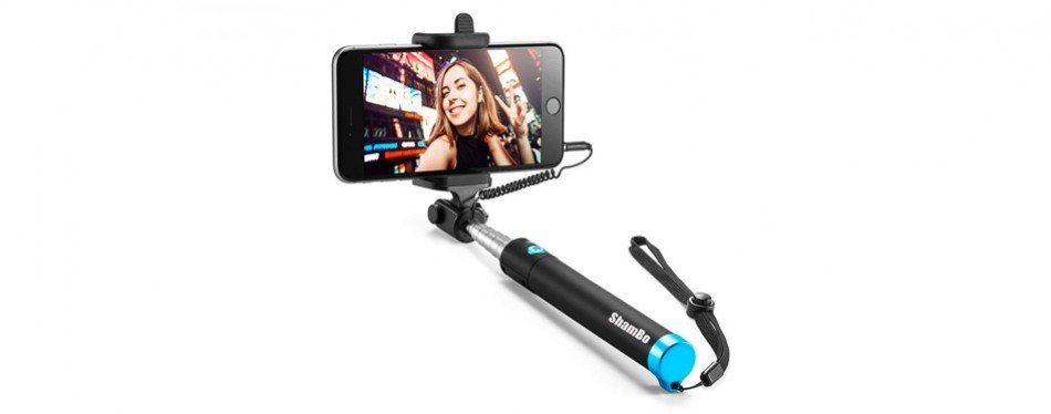 Anker Extendable Wired Handheld Monopod Selfie Stick