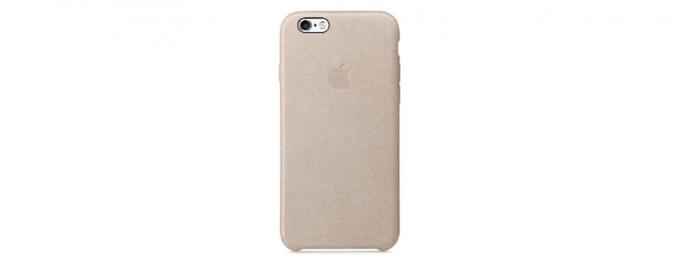 Apple OEM Leather Case