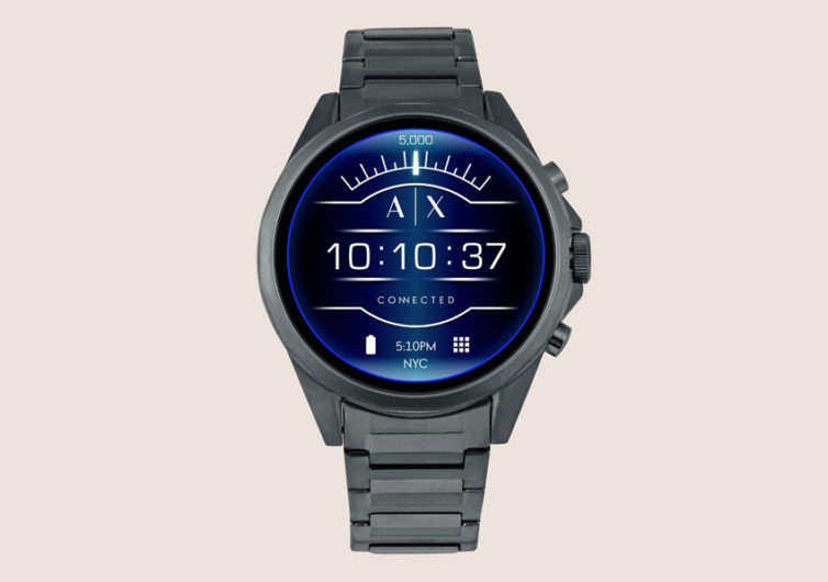 Armani Exchange Blue Smartwatch