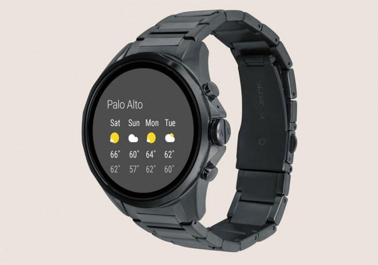 Armani Exchange Blue Smartwatch