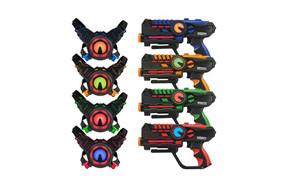 ArmoGear Infrared Laser Tag Set Guns and Vests Mega Pack