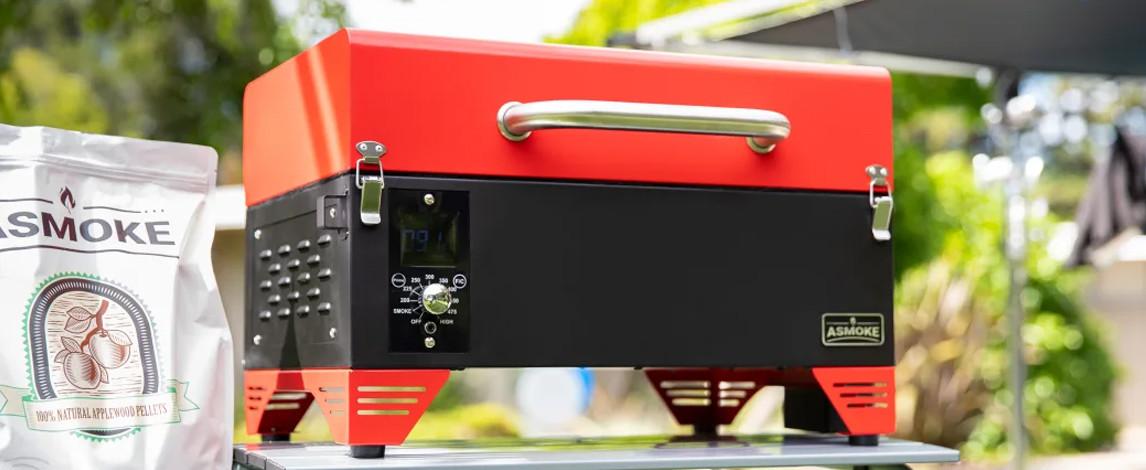 Asmoke – Portable Applewood Pellet Grill