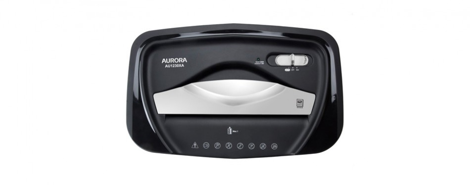 Aurora AU1230XA Anti-Jam Paper Shredder