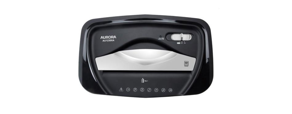 Aurora AU1230XA Anti-Jam Paper Shredder