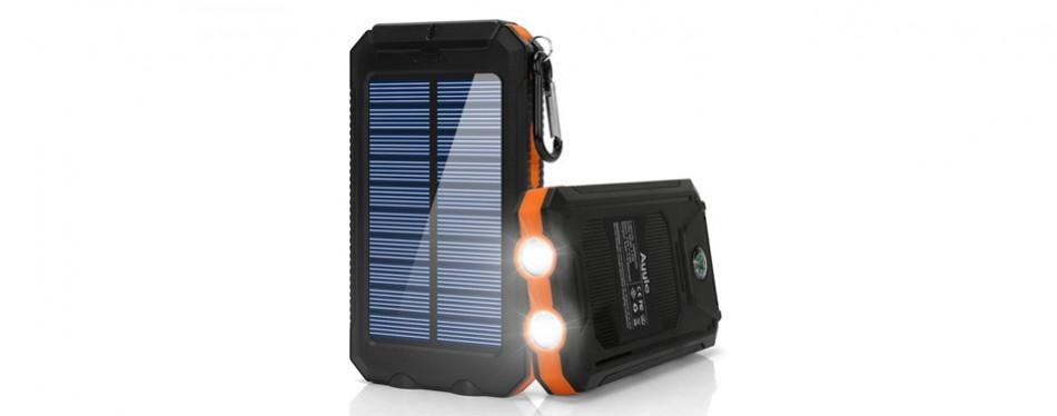Ayyie Dual USB Survival Solar Power Bank
