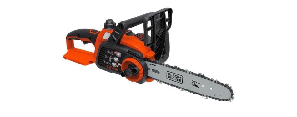 black+decker 20v chainsaw