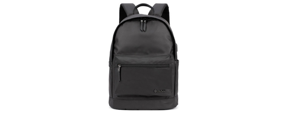 Backpack w/ USB Charging Port Fits Under 15
