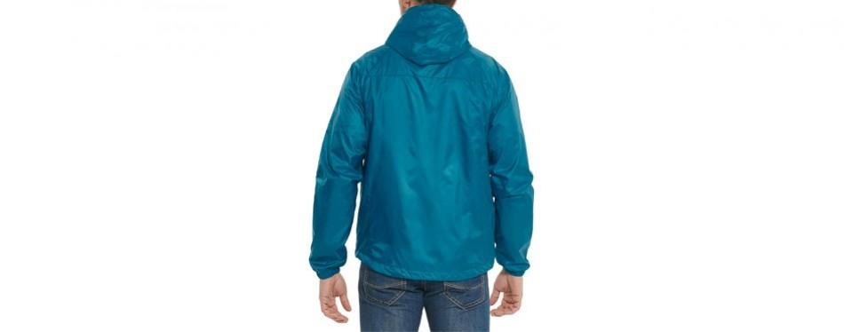 Baleaf Men's Woven Lightweight Hooded Running Jacket