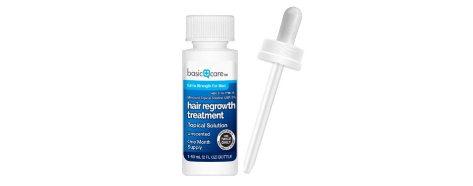 Basic Care Minoxidil For Men Topical Solution