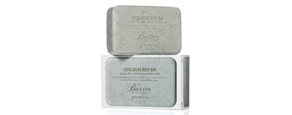 Baxter of California Men's Exfoliating Body Bar Soap