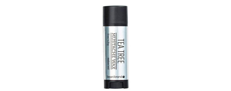 Beardbrand Tea Tree Mustache Wax