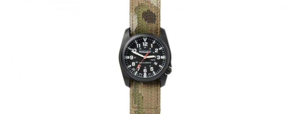 Bertucci Illuminated Black Camo Field Watch