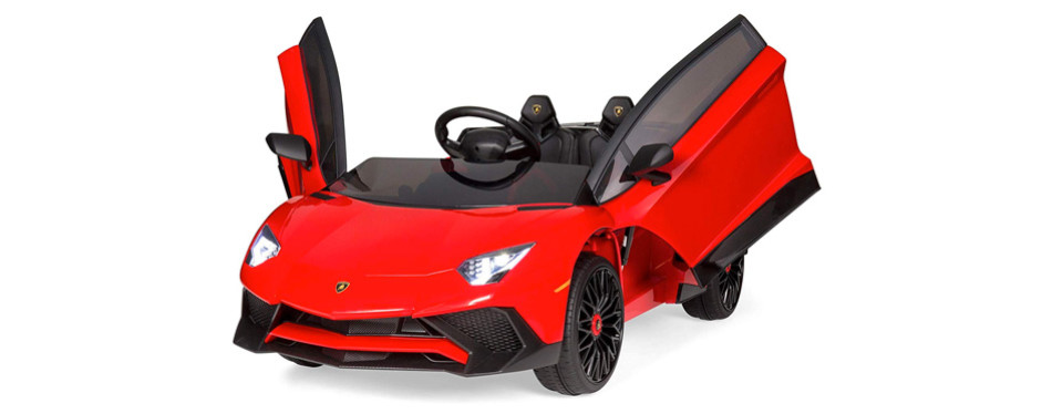 Best Choice Products Kids 12V Ride On Electric Lamborghin