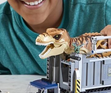 Best Lego Jurassic World