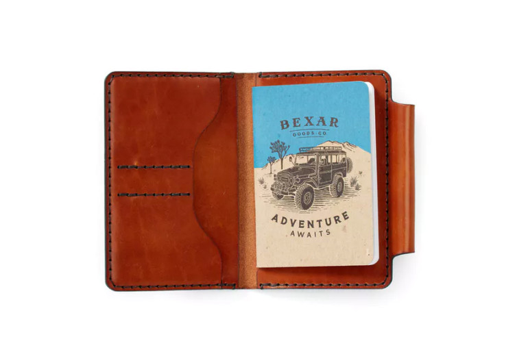Bexar Goods Co. Field Notes Wallet