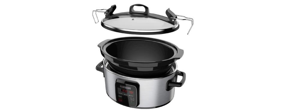 Black+Decker Programmable Crock Pot