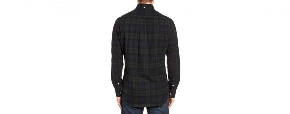 Blackwatch Plaid Flannel Shirt