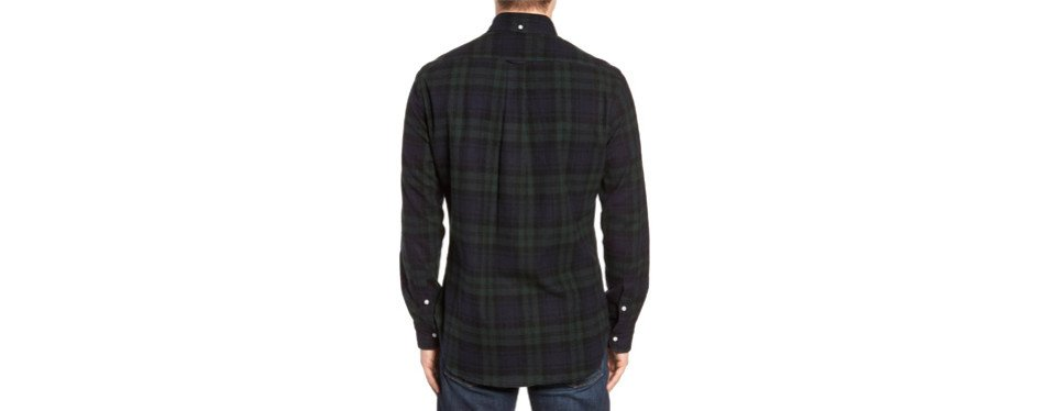 Blackwatch Plaid Flannel Shirt
