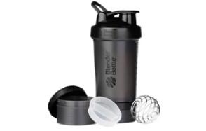 BlenderBottle ProStak System Protein Shaker