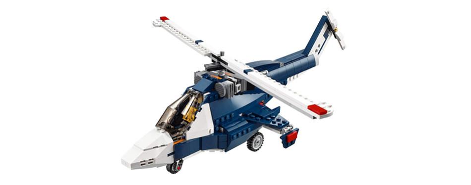 Blue Power Jet LEGO Creator Set