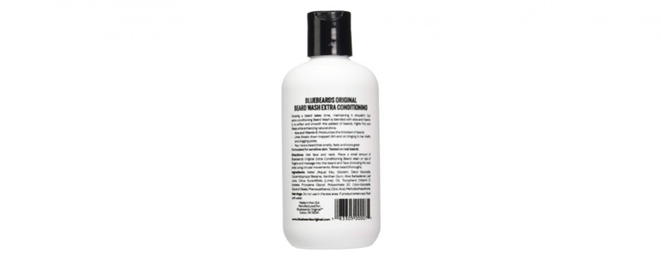 Bluebeards Original Beard Wash Shampoo with Extra Conditioning