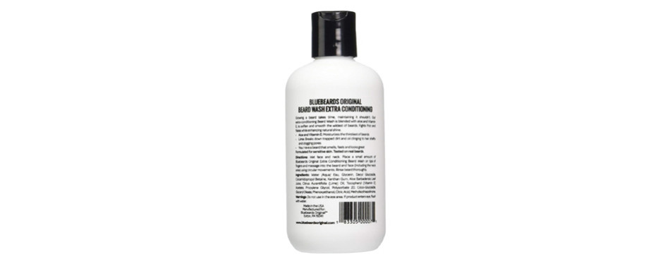Bluebeards Original Beard Wash Shampoo with Extra Conditioning