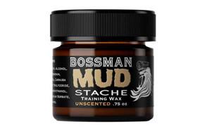 Bossman MUDstache- Mustache Training Wax