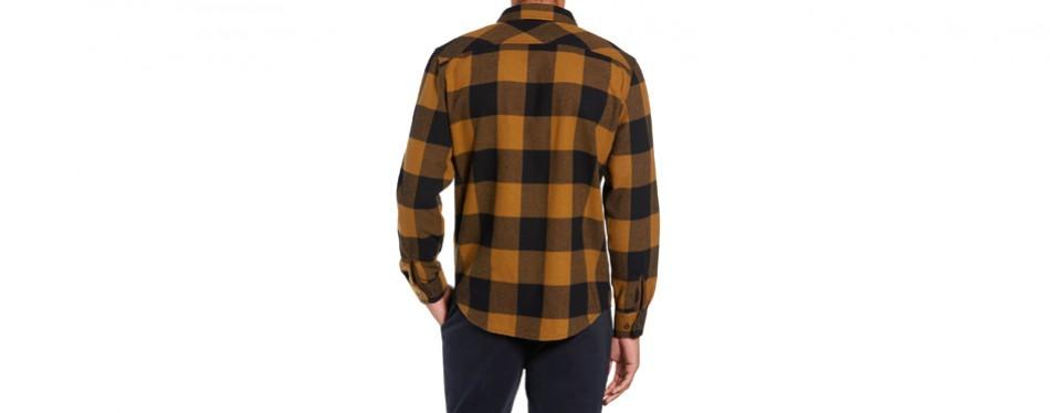 Bowery Buffalo Plaid Flannel Shirt