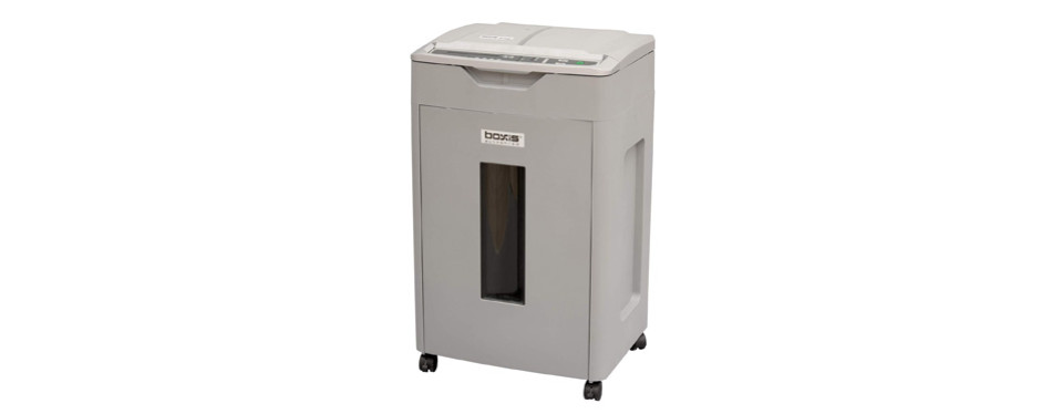 Boxis 650-Sheet Autoshred Microcut Paper Shredder