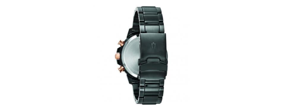 Bulova Men's Marine Star Rose Gold Watch