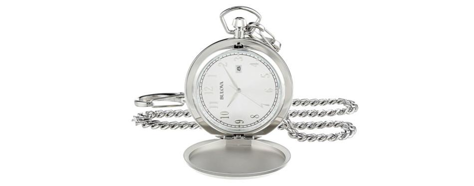 Bulova Quartz Pocket Watch