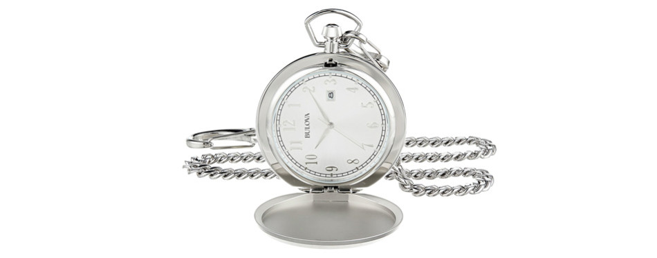 Bulova Quartz Pocket Watch