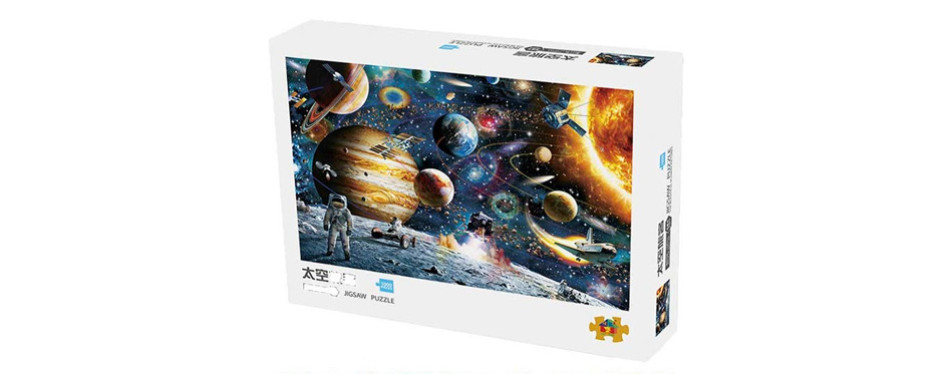 CHAFIN - Space Puzzle - 1000 Piece Jigsaw Puzzle