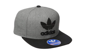 adidas originals snapback flatbrim cap
