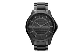 armani exchange men's classic watch