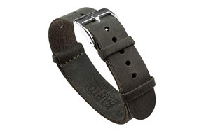 barton leather nato style watch strap
