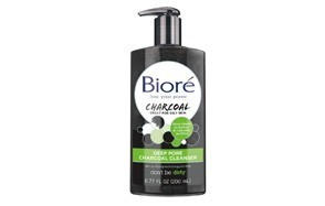 bioré deep pore charcoal cleanser for oily skin