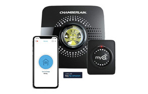 chamberlain group myq smart garage door opener