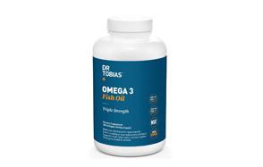 dr tobias omega-3 fish oil triple strength