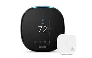 ecobee4 smart thermostat with built in alexa