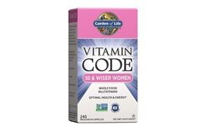 garden of life vitamin code 50 & wiser women's multivitamin