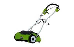 greenworks 14-inch 10 amp electric dethatcher